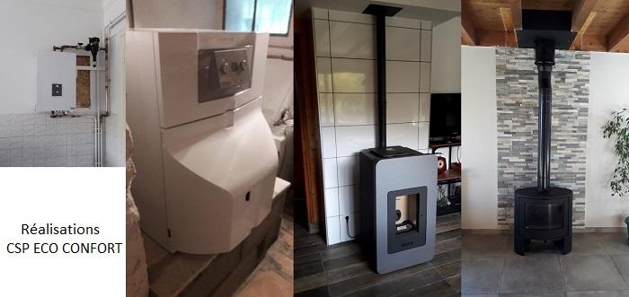 L'entreprise de Guillaume Besson, Csp Eco Confort, vous propose ses connaissances en système de chauffage pour vous accompagner dans l'installation de tous types de chauffages pour votre domicile.